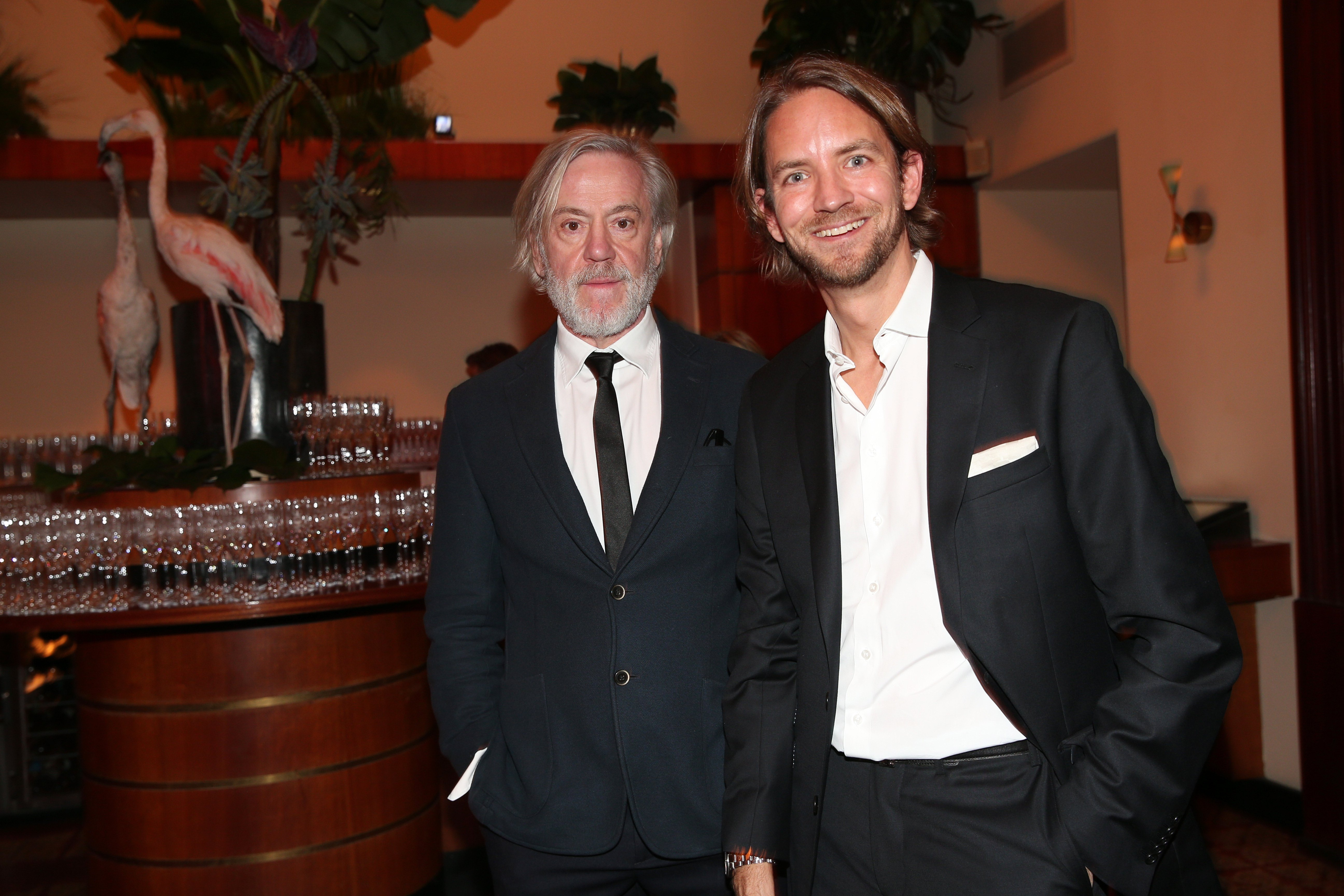 Roland Mary (left) during the Bild 'Place to B' Party / Getty Images