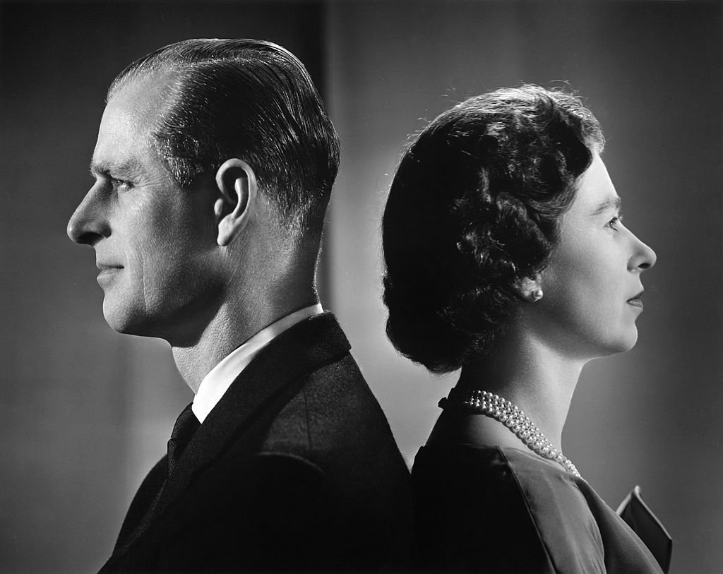 Image Credit: Getty Images / Queen Elizabeth II and Prince Philip, Duke of Edinburgh pose for a portrait at home in Buckingham Palace in December 1958 in London, England.