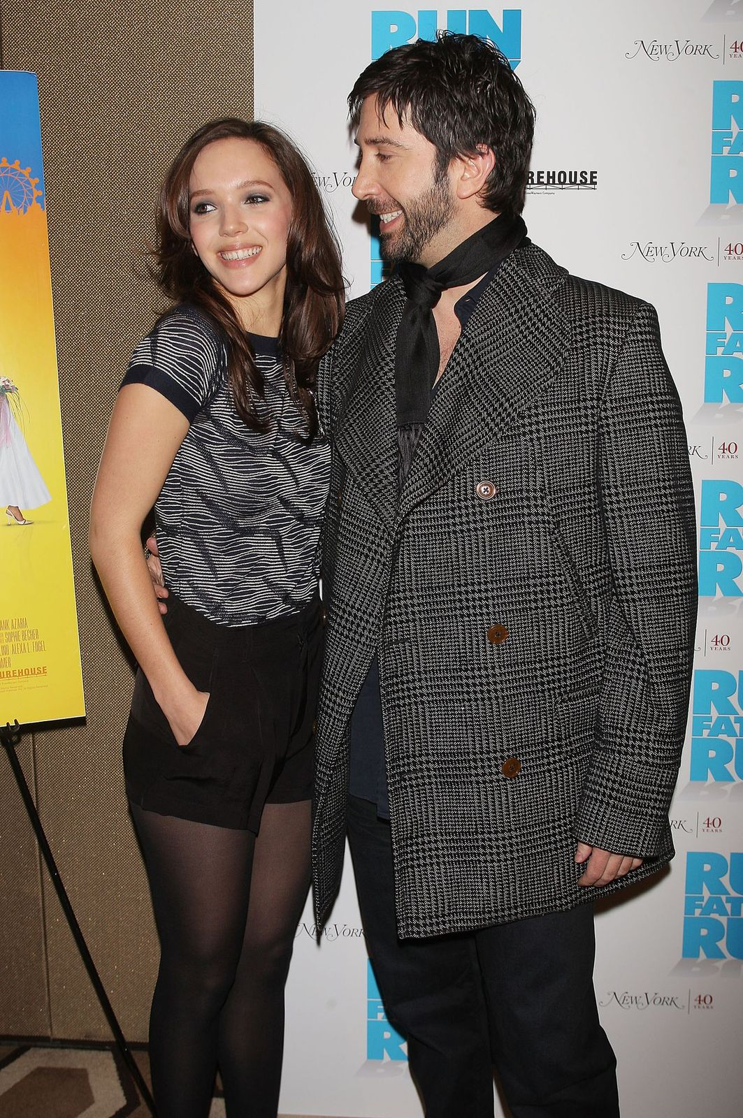 David Schwimmer and Zoe Buckman/Photo:Getty Images