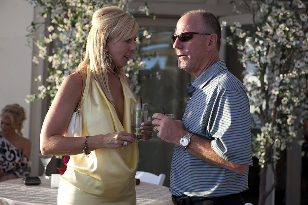 "Image Credit: Getty Images / The Real Housewives of OC, ""Final BBQ"" Vicki Gunvalson, Donn Gunvalson."
