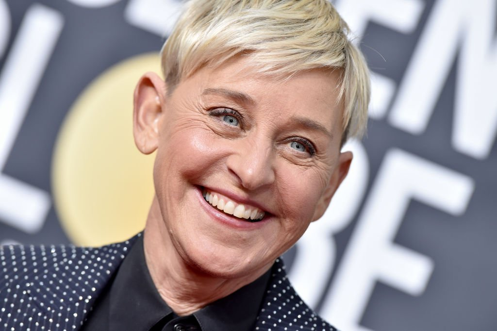 Image Source: Getty Images/Axelle/Bauer-Griffin| Ellen DeGeneres attends the 77th Annual Golden Globe Awards at The Beverly Hilton Hotel on January 05, 2020 in Beverly Hills, California.