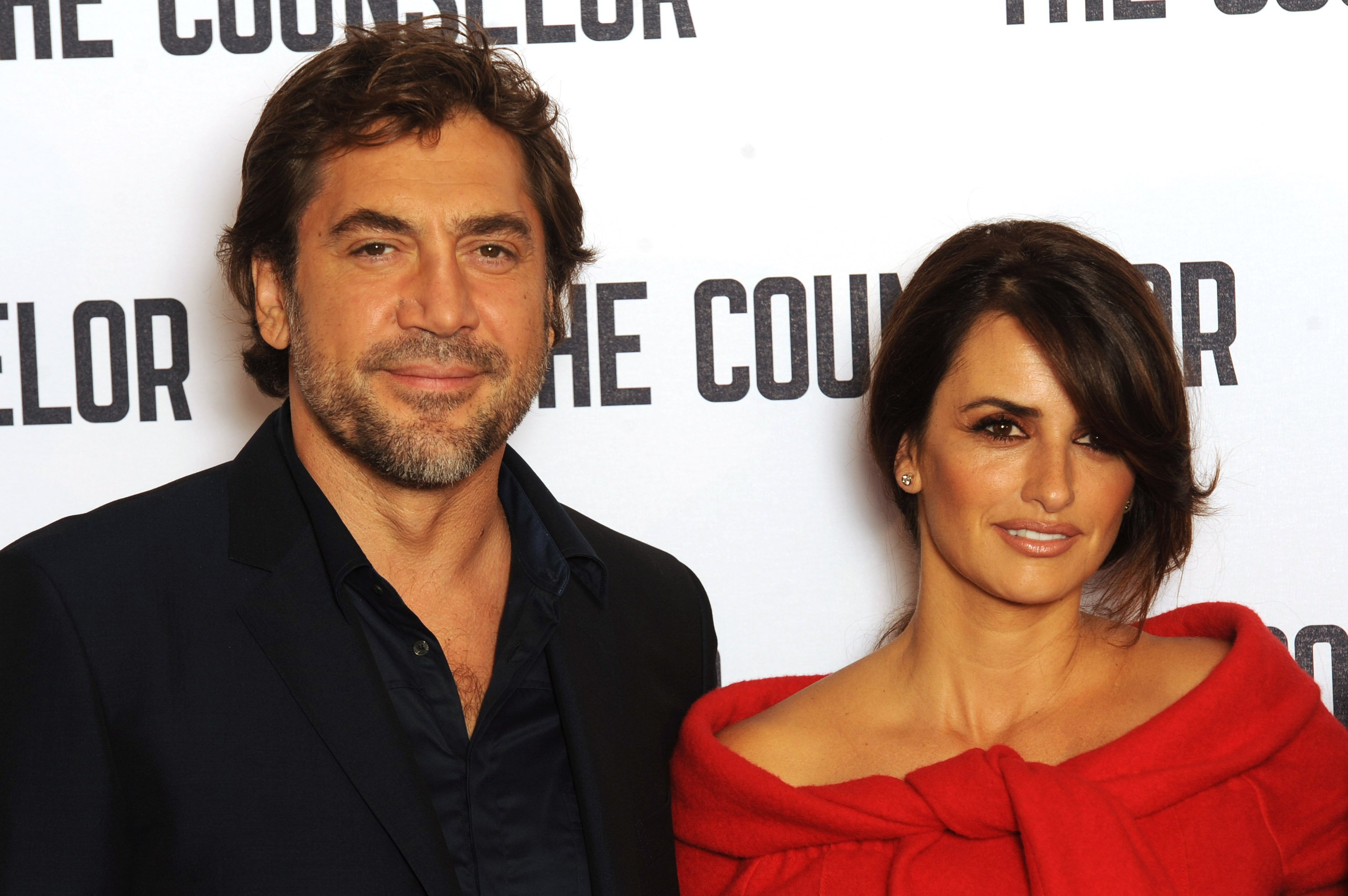 Image Credits: Getty Images / Dave J Hogan | Javier Bardem and Penelope Cruz attend a photocall for 'The Counselor' at The Dorchester on October 5, 2013 in London, England.
