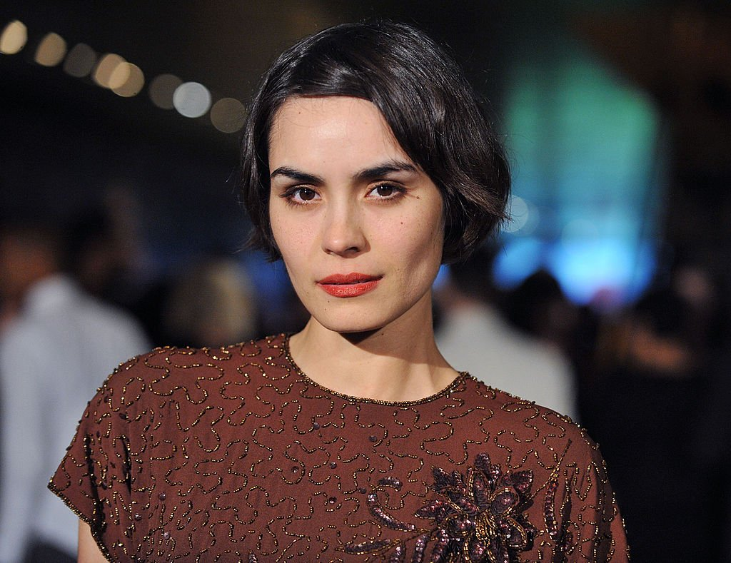 Image Credit: Getty Images / Actress Shannyn Sossamon arrives at the Prada Book Launch Party at Prada Rodeo Dr. on November 13, 2009.
