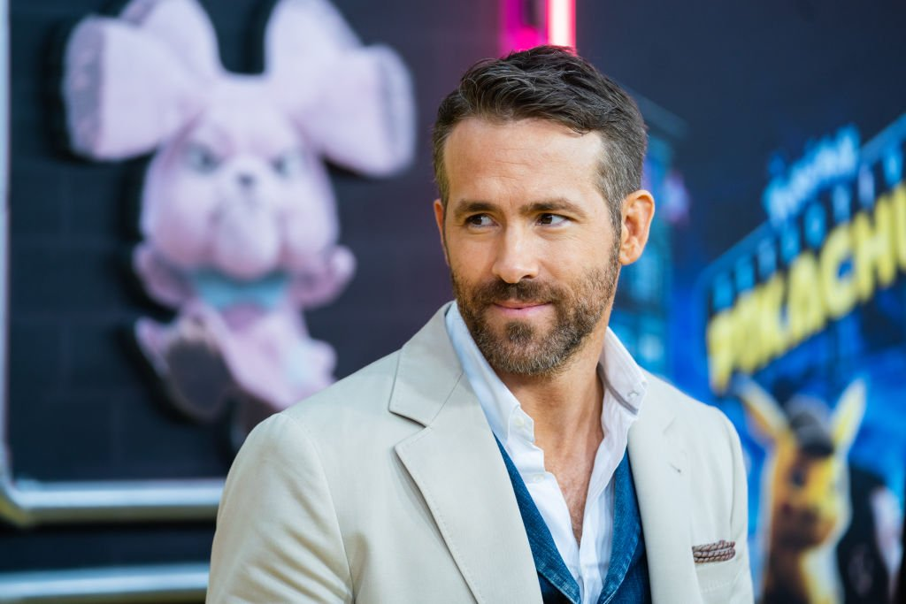 "Image Credit: Getty Images / Ryan Reynolds attends the premiere of ""Pokemon Detective Pikachu"" at Military Island in Times Square on May 2, 2019 in New York City."