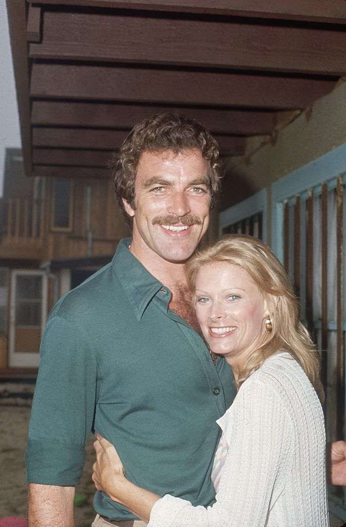 Image Credit: Getty Images/Max B. Miller/Fotos International | Selleck and Ray back in 1975