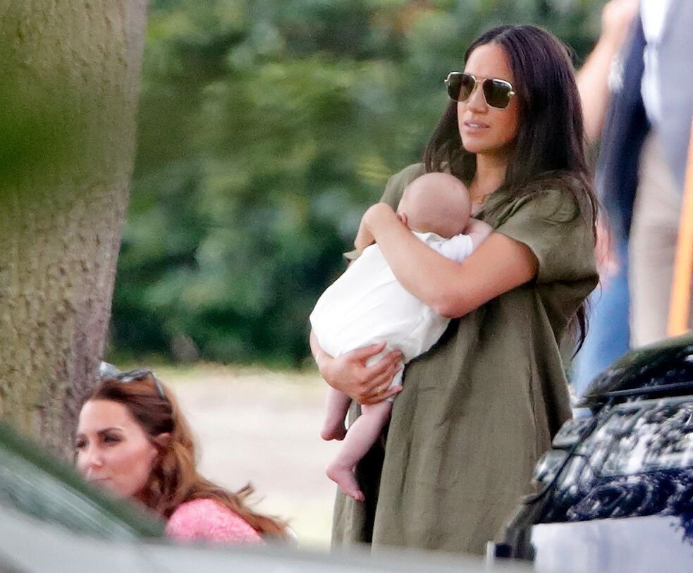 Meghan Markle and Archie Harrison Mountbatten-Windsor/Photo:Getty Images