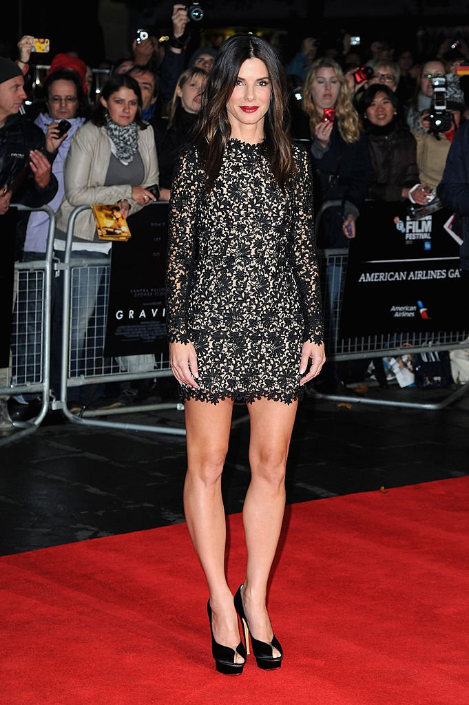 "Image Credits: Getty Images / Eamonn M. McCormack | Actress Sandra Bullock attends a screening of ""Gravity"" during the 57th BFI London Film Festival at Odeon Leicester Square on October 10, 2013 in London, England."