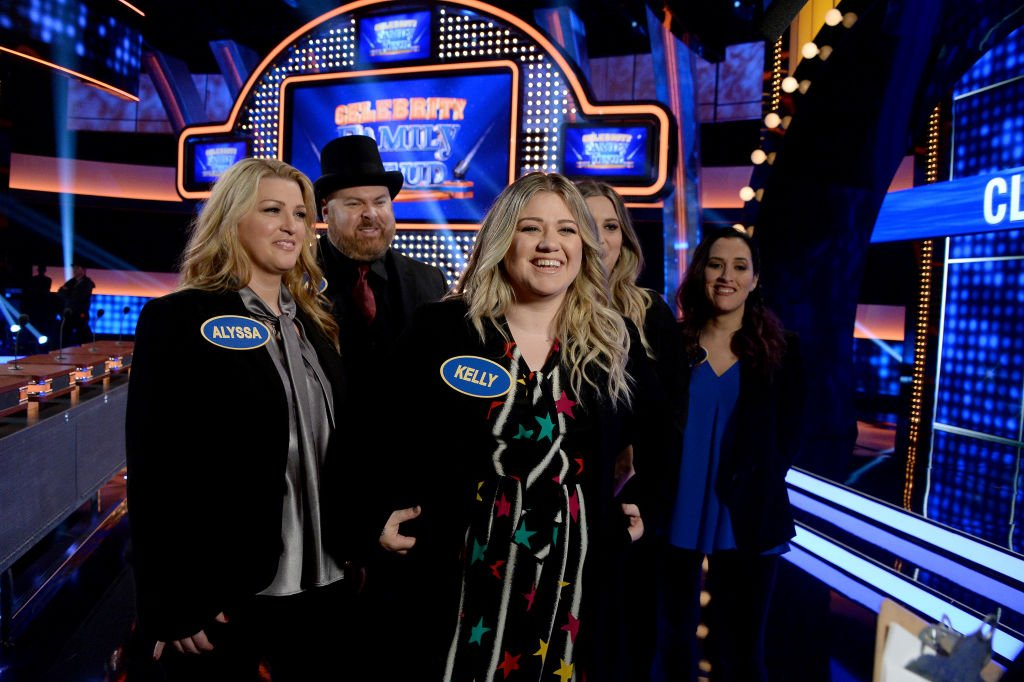 """Image Source: Getty Images/Eric McCandless/""""Celebrity Family Feud""""/ABC"""