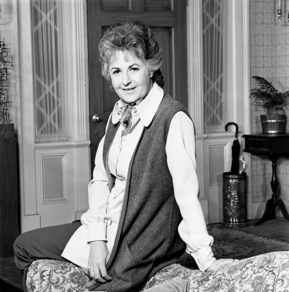 "Image Credits: Getty Images / CBS | Beatrice Arthur stars as Maude Findlay on the CBS television program, ""Maude."""