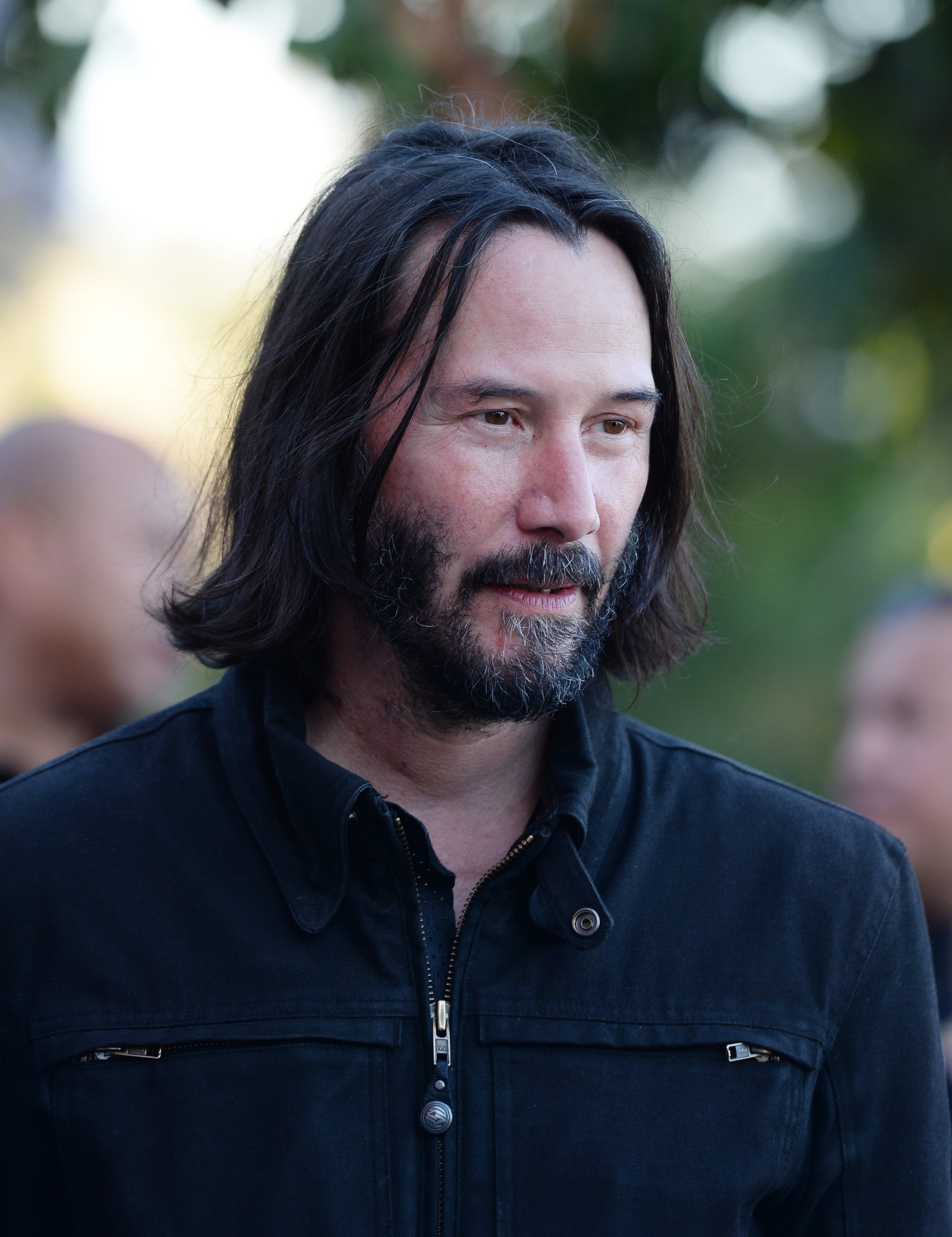 Image Source: Getty Images| Keanu Reeves at an event