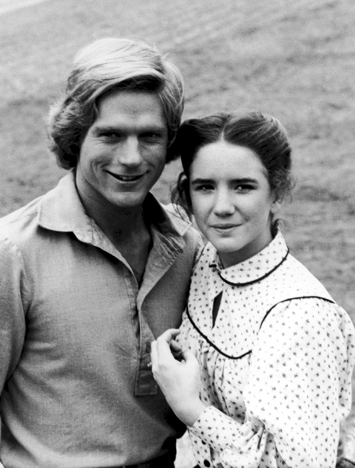 Image Credit: Getty Images/NBC Television | Dean Butler as Wilder and Melissa Gilbert as Laura