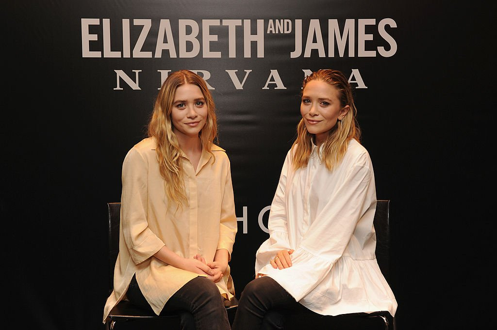 Image Credit: Getty Images/Kevin Mazur | Ashley Olsen and Mary-Kate Olsen attend the Elizabeth and James SEPHORA VIB ROUGE Event