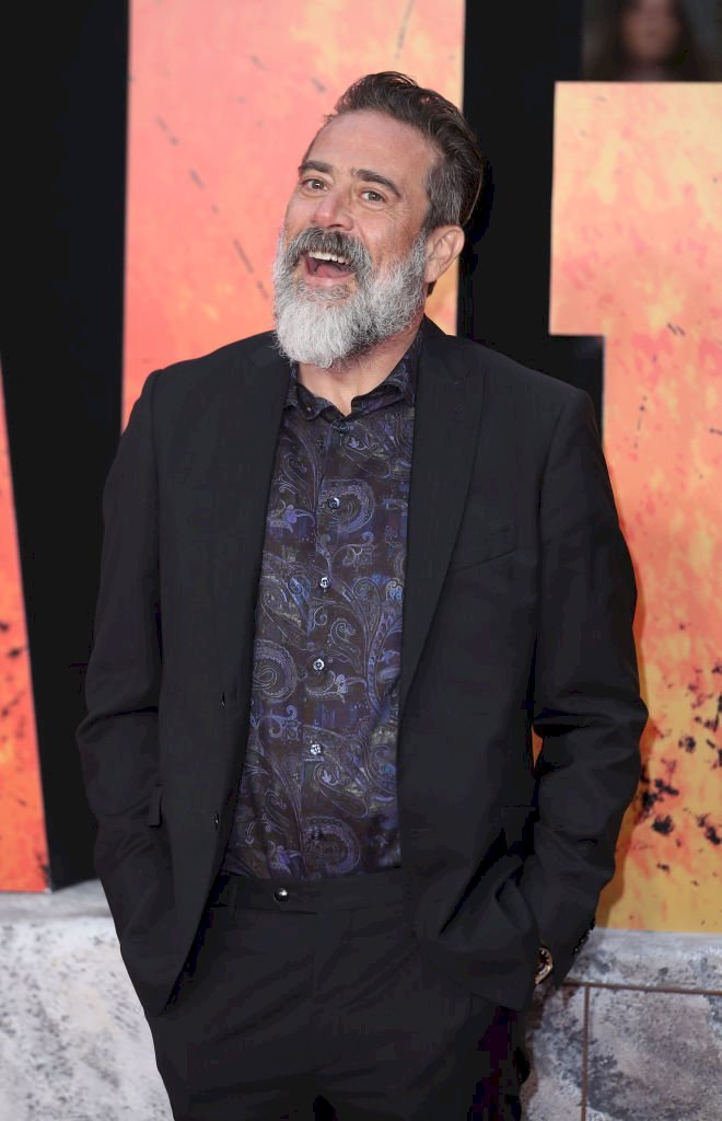 Image Credits: Getty Images / Mike Marsland / WireImage | Jeffrey Dean Morgan attends the European Premiere of 'Rampage' at Cineworld Leicester Square on April 11, 2018 in London, England.