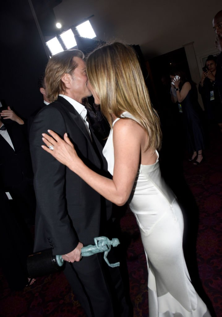Image Credits: Getty Images / Vivien Killilea | Brad Pitt and Jennifer Aniston attend the 26th Annual Screen Actors Guild Awards on January 19, 2020.