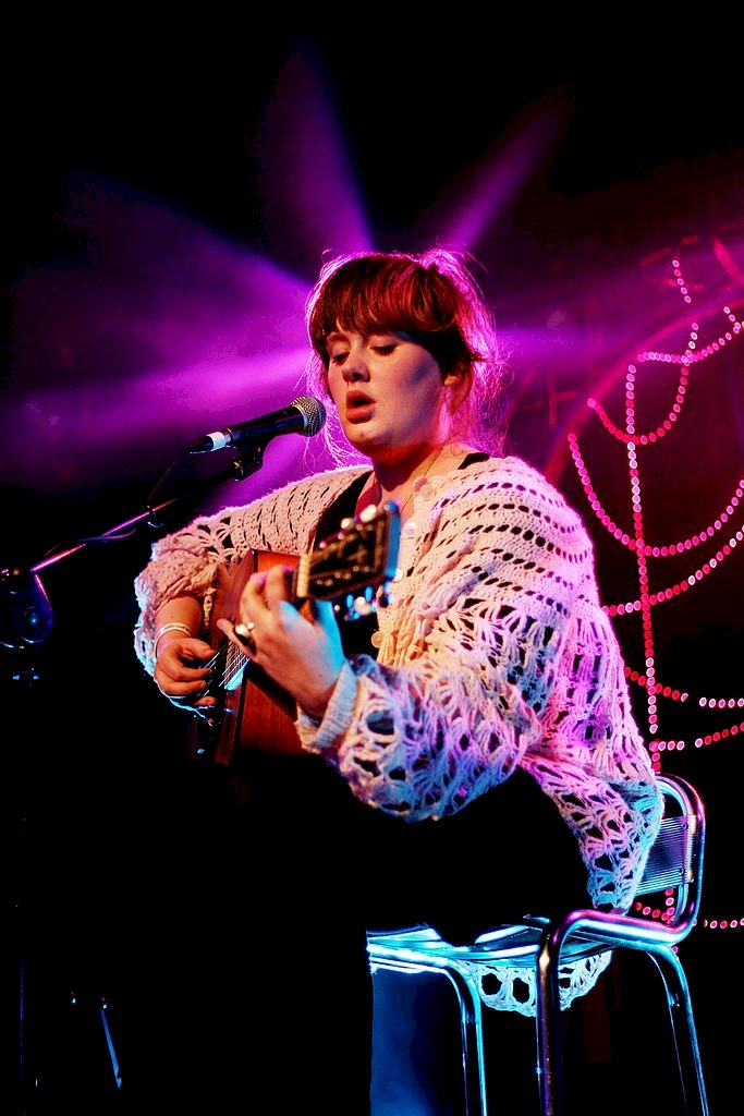 Image Credit: Getty Images / Adele performs on the MTV2 Gonzo On Tour stage at the Concorde 2 during day three of the Great Escape Festival on May 19, 2007 in Brighton, England.