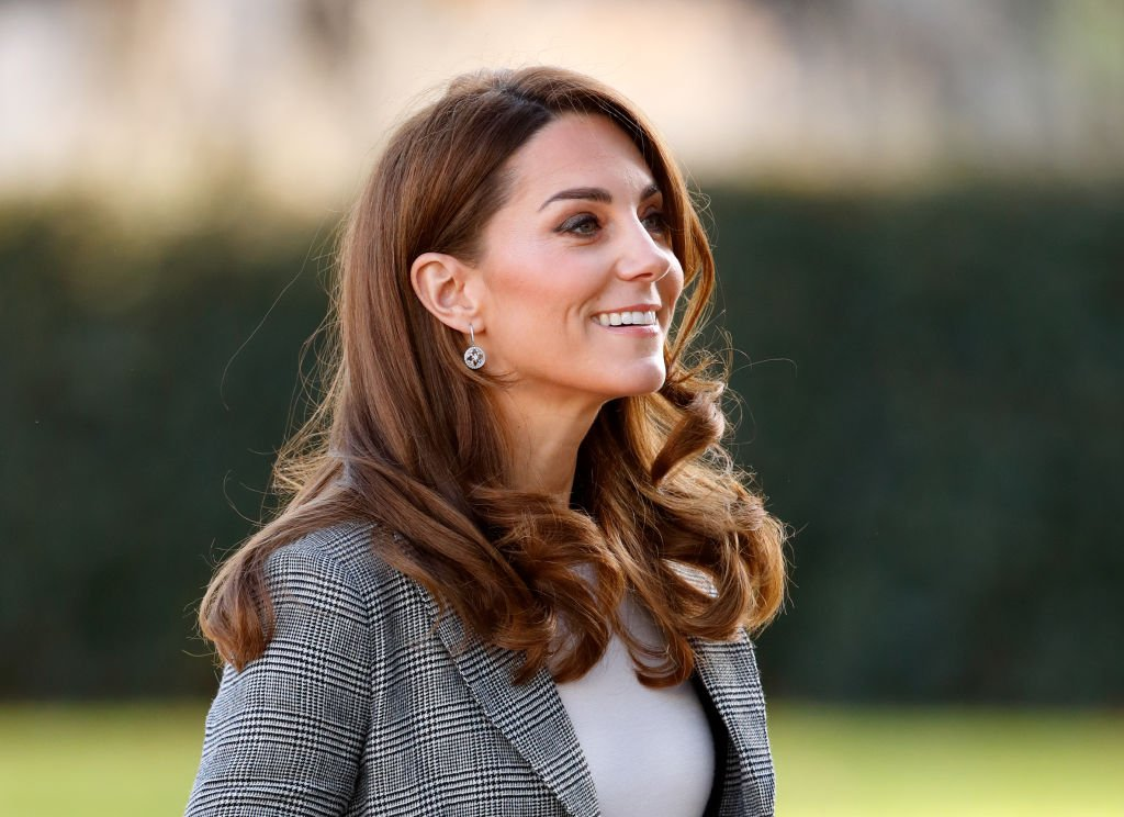Image Credit: Getty Images / Catherine, Duchess of Cambridge attends Shout's Crisis Volunteer celebration event at Troubadour White City Theatre on November 12, 2019 in London, England.
