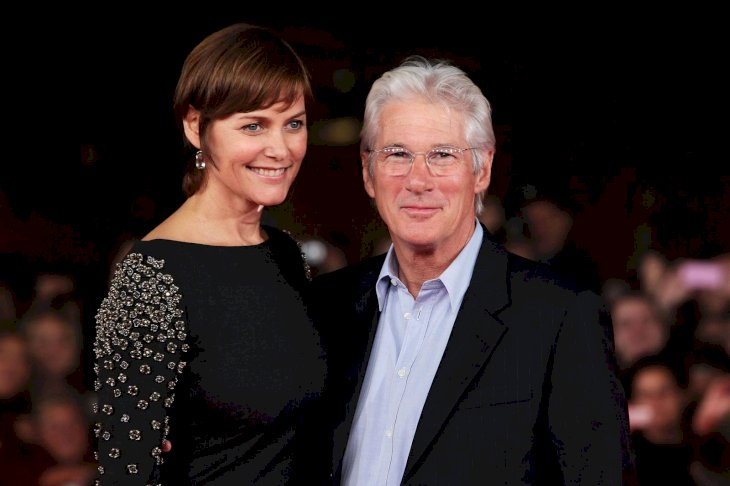 Richard Gere and Carey Lowell/Photo:Getty Images
