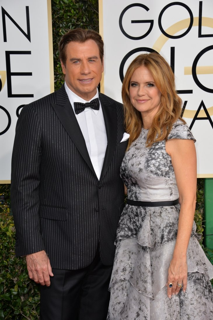 Image Source: Shutterstock/John and Kelly at the Golden Globes