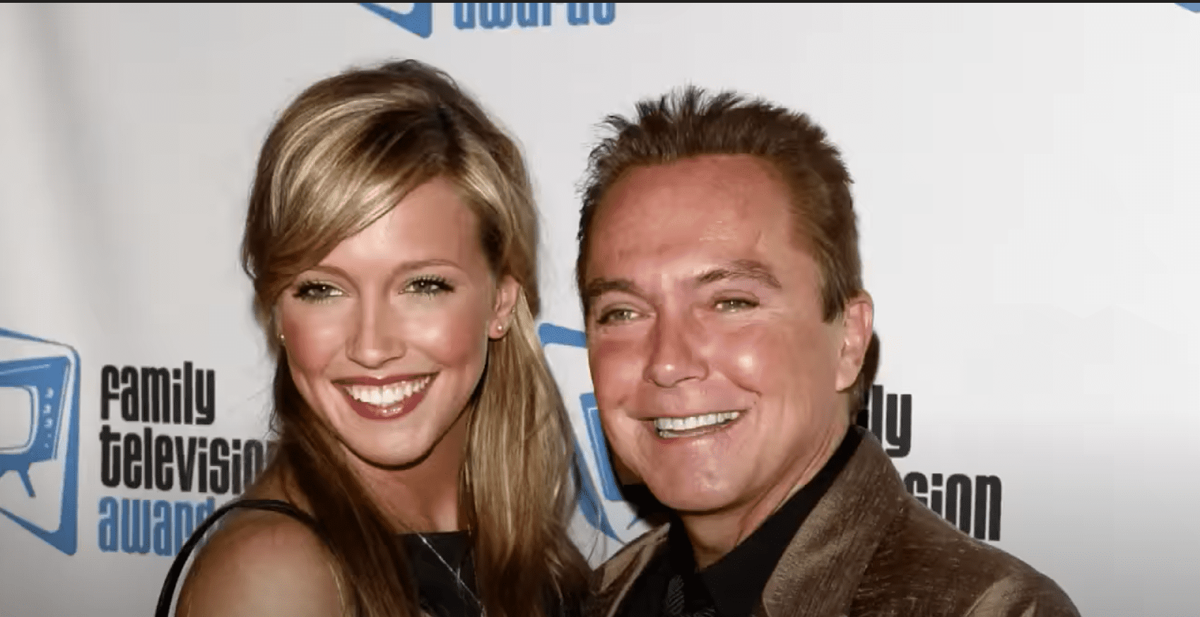 Image Source: Youtube/Inside Edition/David and Katie Cassidy at the Family Television Awards