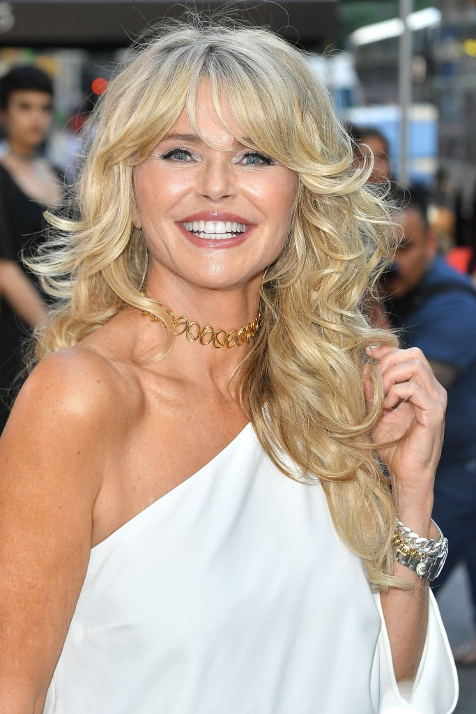 Image Credits: Getty Images / Michael Loccisano | Model Christie Brinkley attends Bella New York magazine's beauty cover launch at La Pulperia Restaurant on May 29, 2018 in New York City.