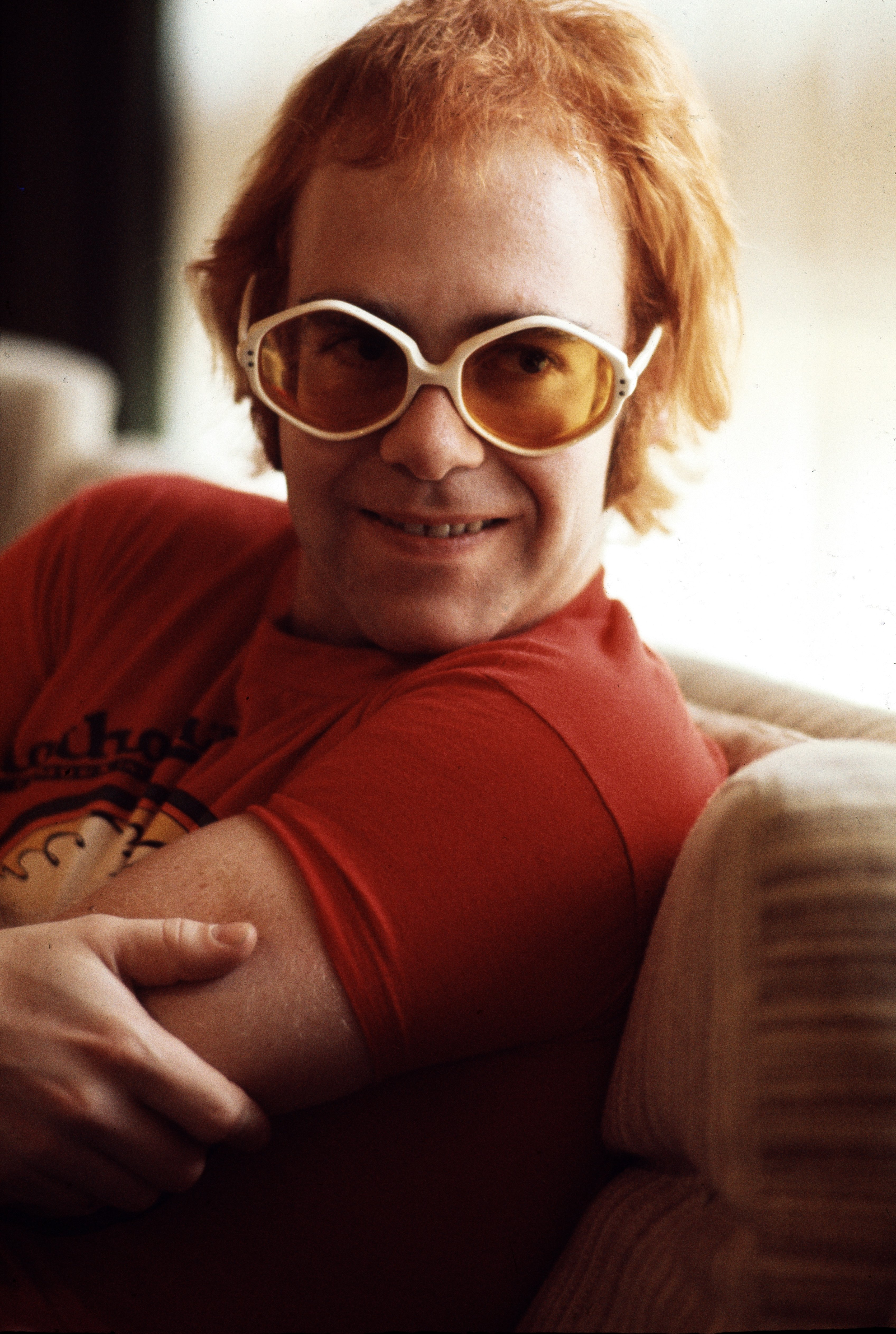 Image Source: Getty Images/A photo of Elton John