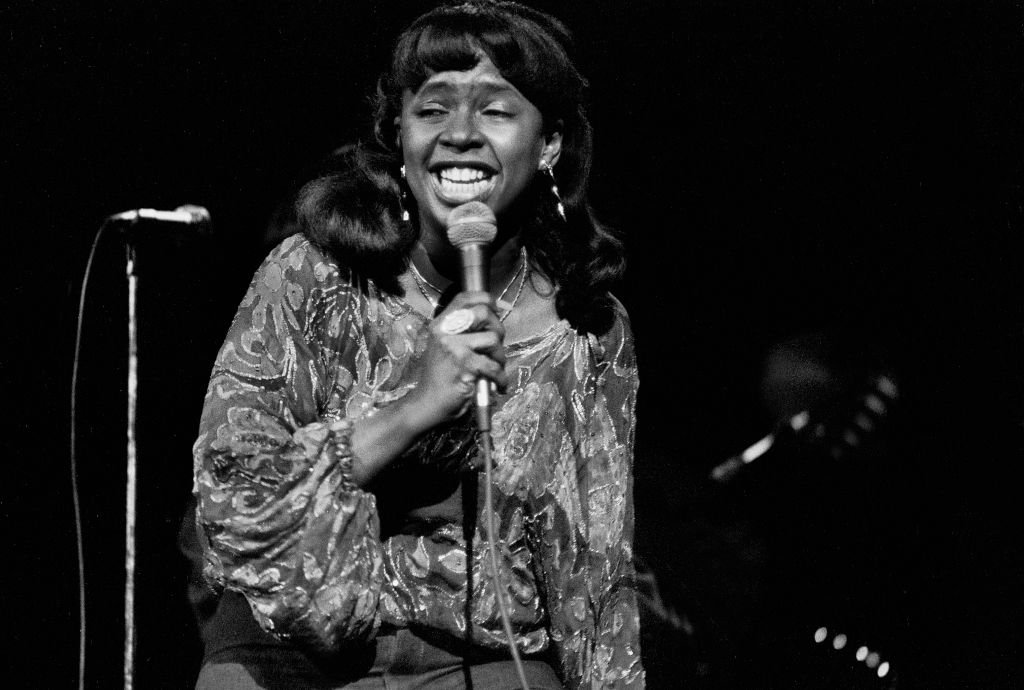 Image Credit: Getty Images / Betty Wright performs onstage at the Uptown Theater, Chicago, Illinois, November 14, 1979.