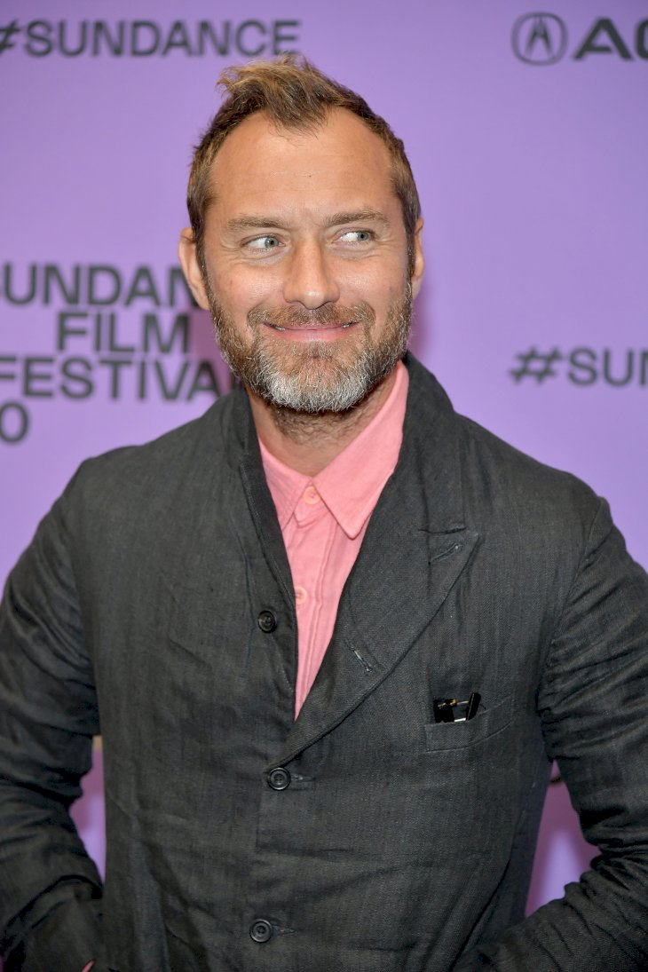 Jude Law attends the 2020 Sundance Film Festival / Photo:Getty Images