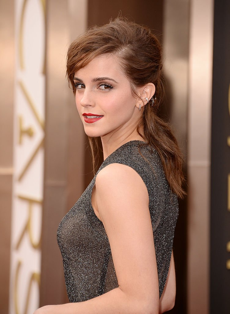 Image Credits: Getty Images / Jason Merritt | Actress Emma Watson attends the Oscars held at Hollywood & Highland Center on March 2, 2014 in Hollywood, California.