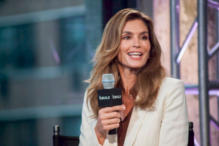 Cindy Crawford appears on the BUILD series/Photo:Getty Images