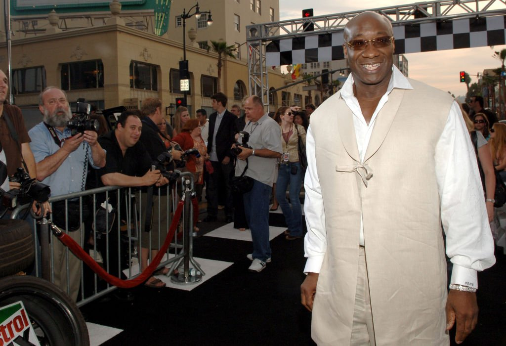 "Image Credit: Getty Images / Michael Clarke Duncan during ""Talladega Nights: The Ballad of Ricky Bobby"" - Red Carpet at Mann's Grauman Chinese Theater in Los Angeles, California, United States."