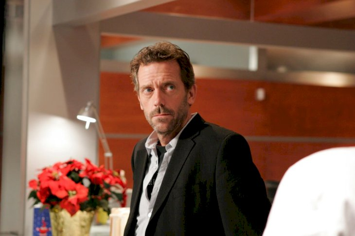 Image Credit: Getty Images / Hugh Laurie on season 1 of House.