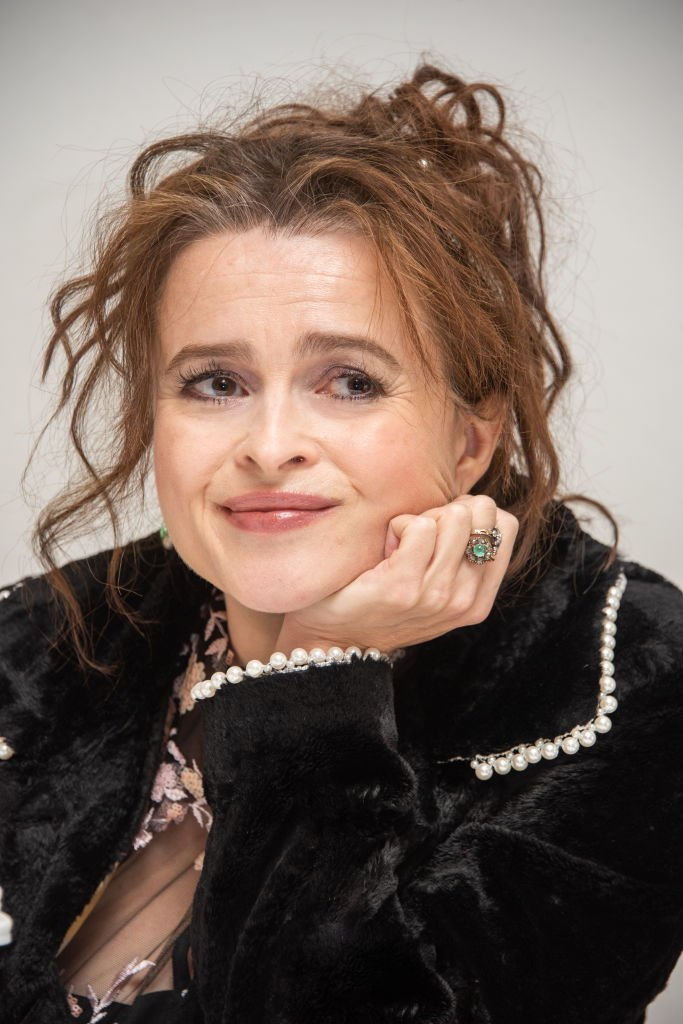 """Image Credits: Getty Images / Vera Anderson / WireImage   Helena Bonham Carter at """"The Crown"""" Press Conference at the Four Seasons Hotel on November 15, 2019 in Beverly Hills, California."""