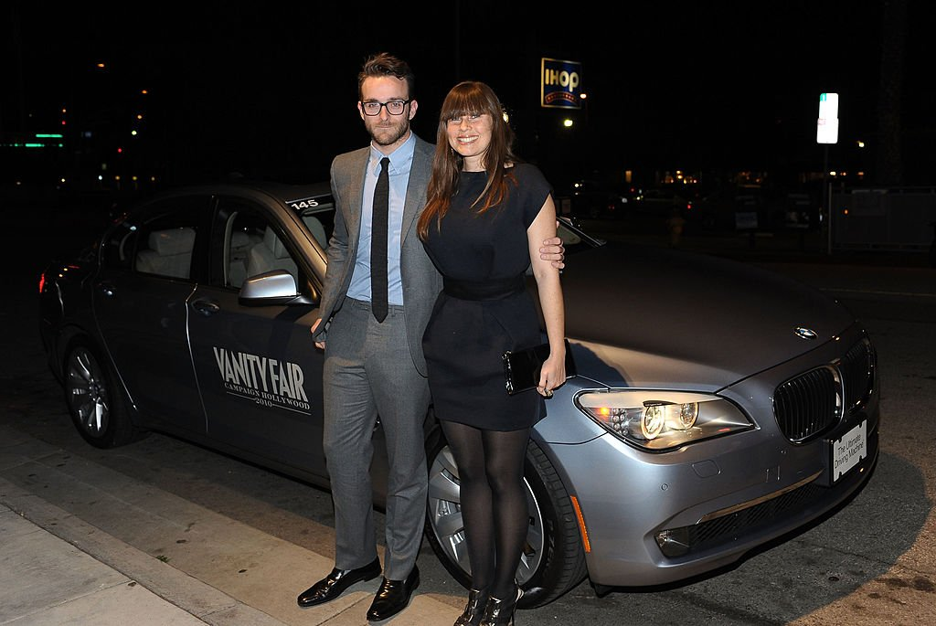 Image Credit: Getty Images / Andrew Wilding (L) and photographer Laura Villasenor arrive at Palihouse Holloway on March 4, 2010 in Los Angeles, California.