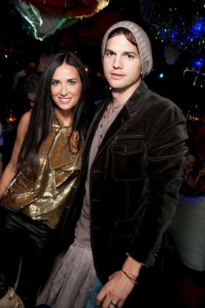 Image Credit: Getty Images/GC/Victor Boyko |Demi Moore and Ashton Kutcher attend the afterparty of the Charity Gala