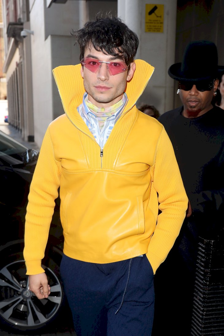 Image Credit: Getty Images / Ezra Miller in public.