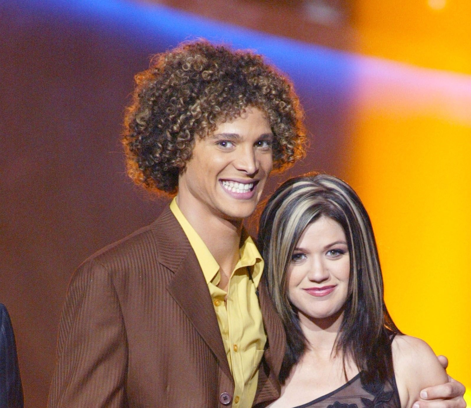Justin Guarini and Kelly Clarkson did not treat each other as fierce competitors / Getty Images