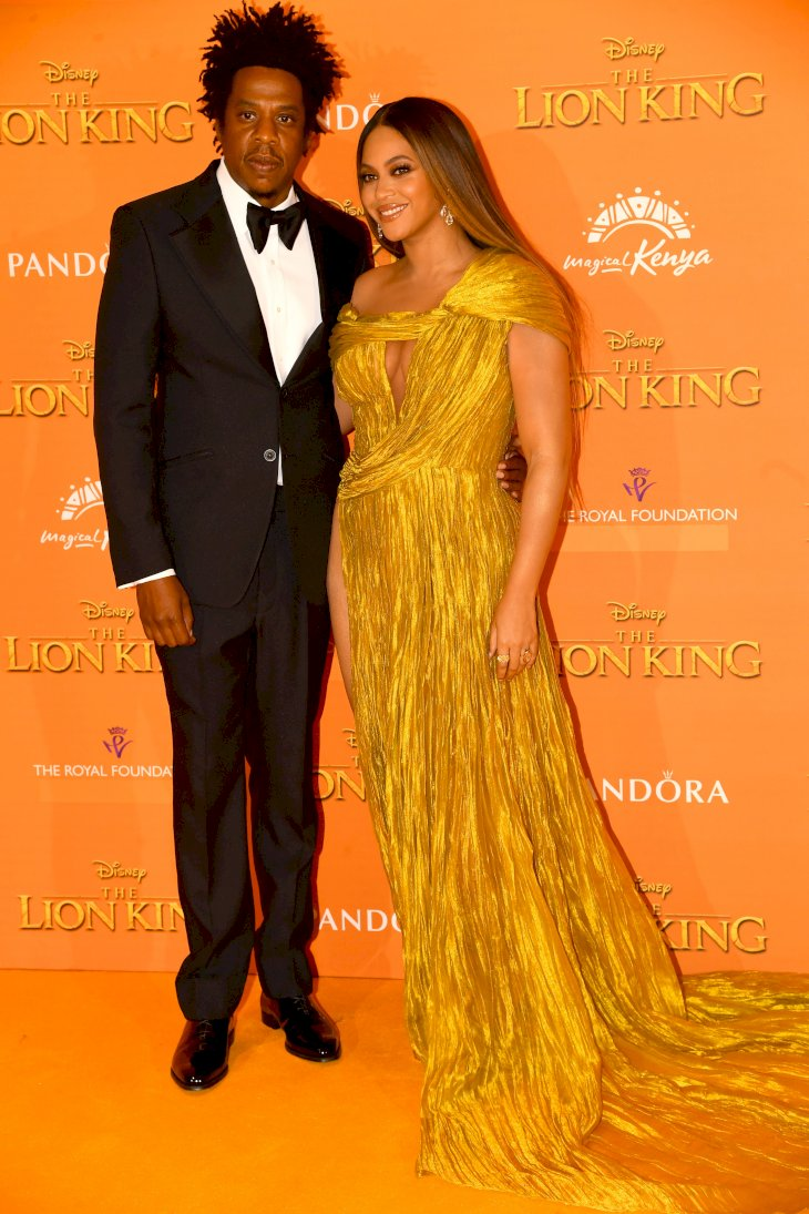 Image Credit: Getty Images/PA Images via Getty Images/Ian West | Jay-z and Beyonce attending Disney's The Lion King European Premiere