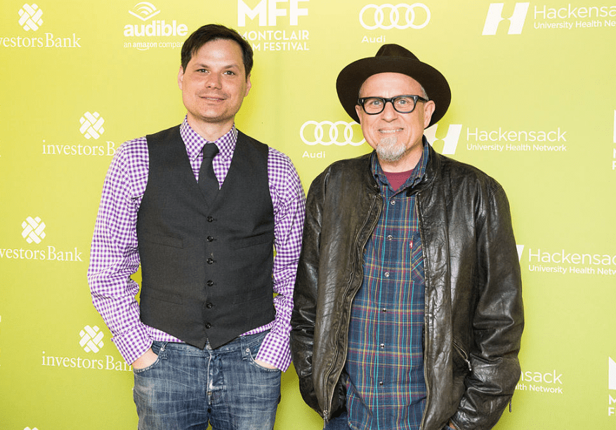 Montclair Film Festival, Michael Ian Black and Bobcat Goldthwait May 2015, CC BY 2.0