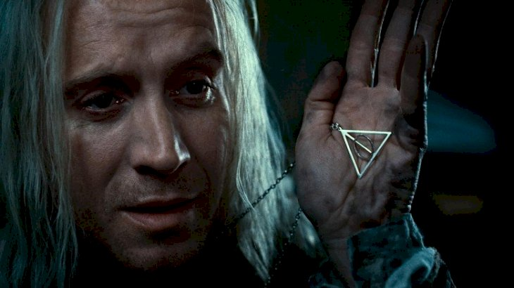 "Rhys Ifans as Xenophilius Lovegood in ""Harry Potter and the Deathly Hallows"" 