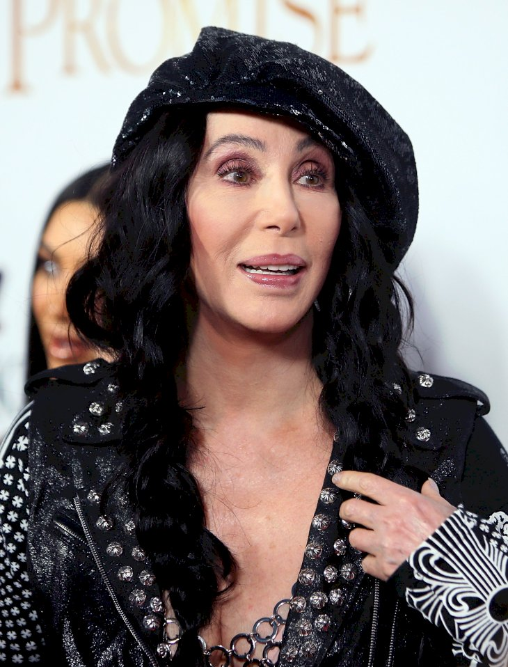 Image Credit: Getty Images / Cher on the red carpet.
