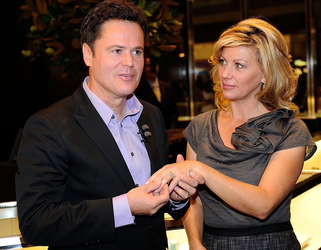 Donny Osmond and Debra Osmond/Photo:Getty Images