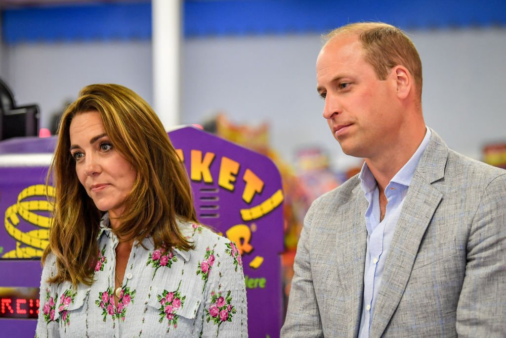Image Credit: Getty Images / Prince William, Duke of Cambridge and Catherine, Duchess of Cambridge during their visit to Barry Island, South Wales on August 5, 2020 in Barry, Wales.