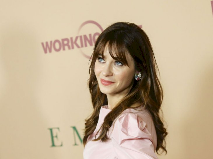 "Image Credit: Getty Images / Zooey Deschanel attends the Los Angeles premiere of Focus Features' ""Emma."" held at DGA Theater on February 18, 2020 in Los Angeles, California."