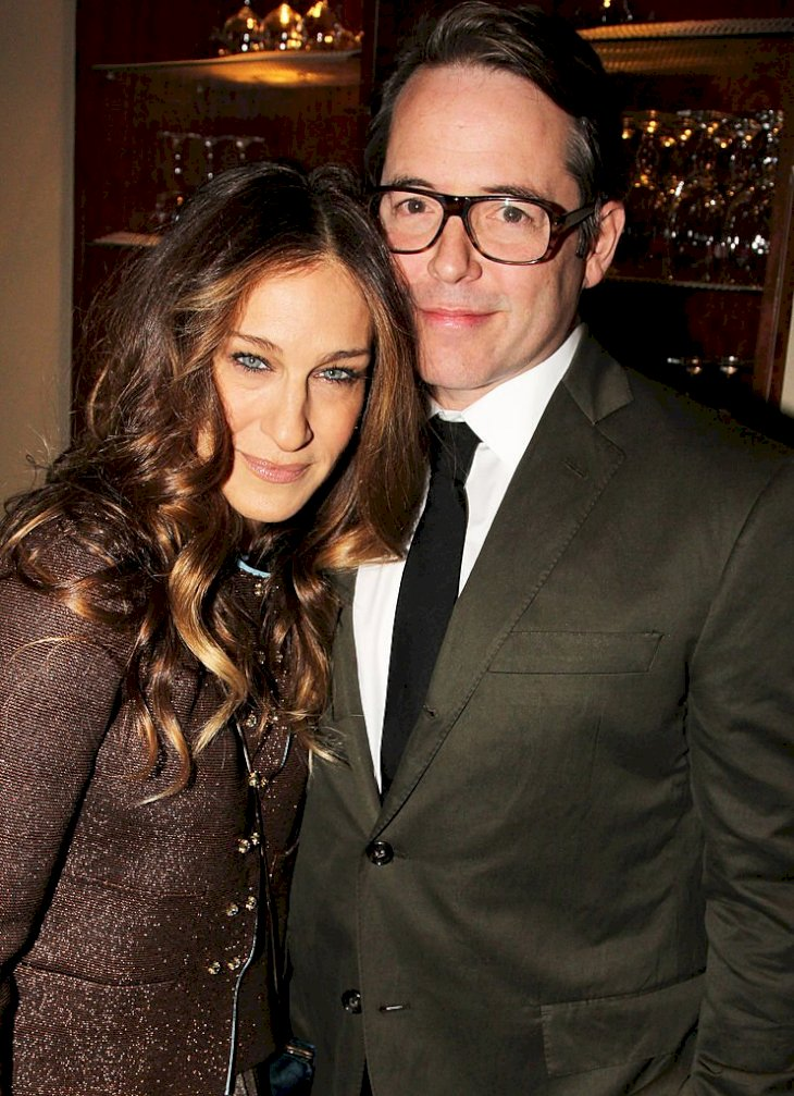 "Image Credits: Getty Images / Bruce Glikas / FilmMagic | Sarah Jessica Parker and Matthew Broderick attends the opening night after party for ""The Commons Of Pensacola"" at Brasserie 8 1/2 on November 21, 2013 in New York City."