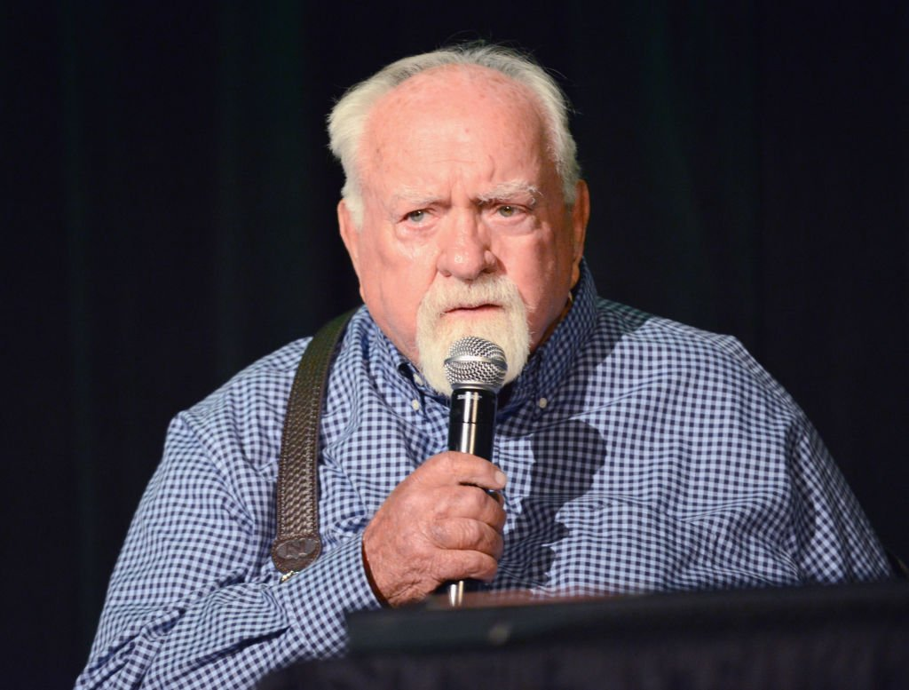 Image Source: Getty Images/Albert L. Ortega| Actor Wilford Brimley attends Day 2 of the 2017 Son Of Monsterpalooza Convention held at Marriott Burbank Airport Hotel on September 16, 2017 in Burbank, California