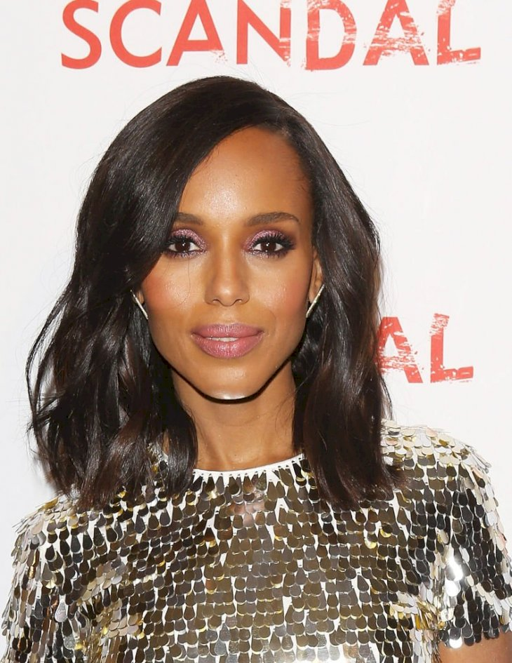 Image Credit: Getty Images / Kerry Washington arrives to the Scandal live stage reading of series finale to Benefit The Actors Fund.