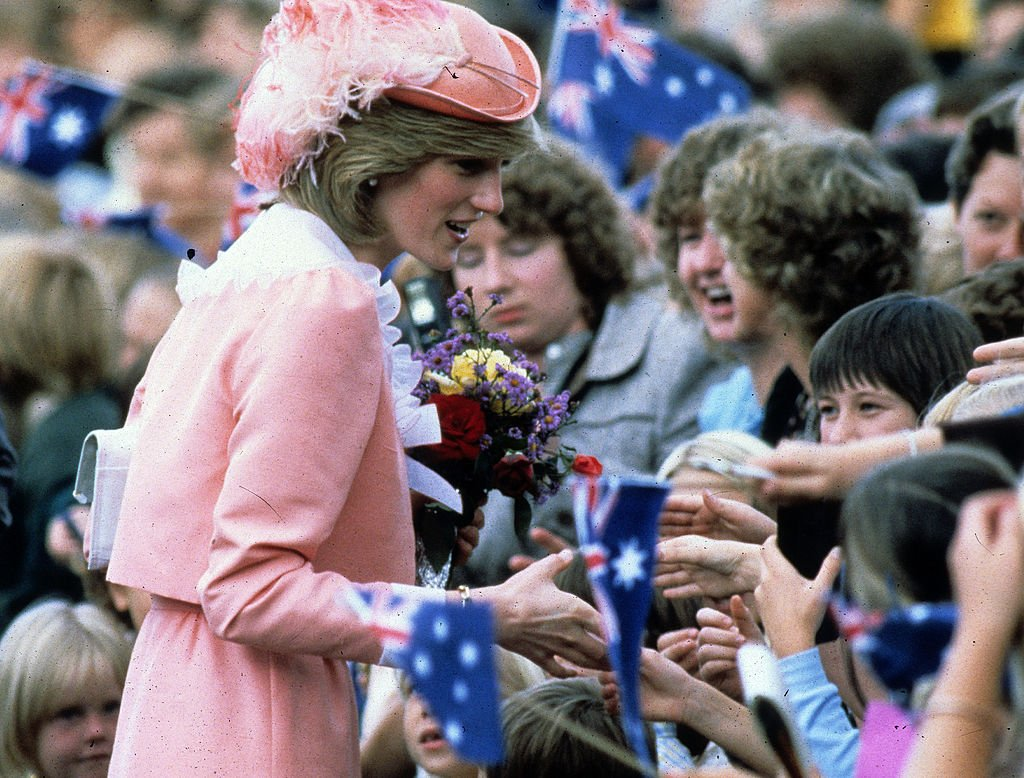Image Credits: Getty Images | Princess Diana loved greeting and interacting with children