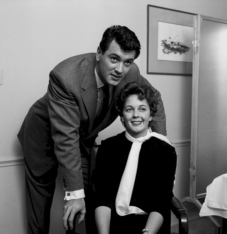 Image Credit: Getty Images/Michael Ochs Archives/Earl Leaf | Rock Hudson and Phyllis Gates
