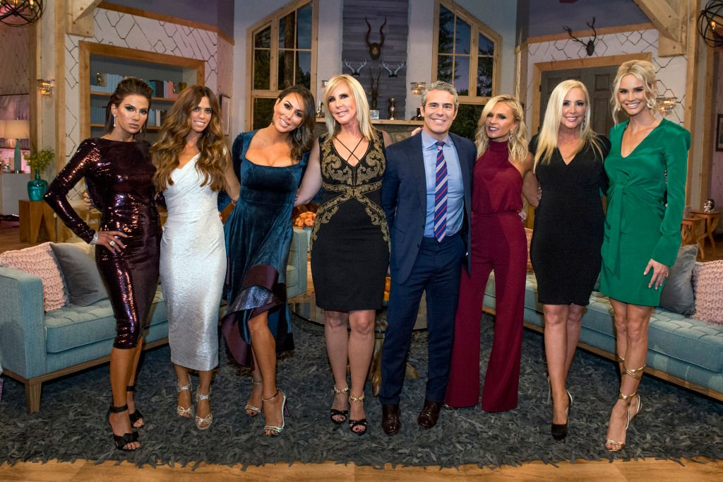 "Image Credit: Getty Images / The Real Housewives of Orange County - Season 12 cast for the ""Reunion""episode with Bravo."