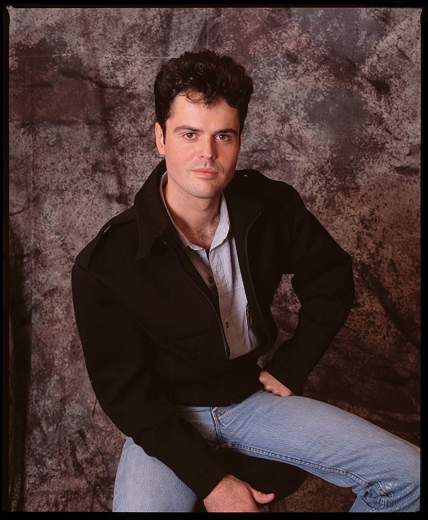 Image Credits: Getty Images / Michael Putland | Donny Osmond of The Osmonds, studio portrait, London, 1987.